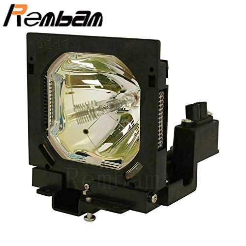 Rembam 610-292-4848/POA-LMP39 Replacement Projector Lamp with Housing for Eiki LC-SX4 LC-SX4L LC-SX4LA LC-SX4Li LC-X4 LC-X4i LC-X4L LC-X4LA LC-X4Li