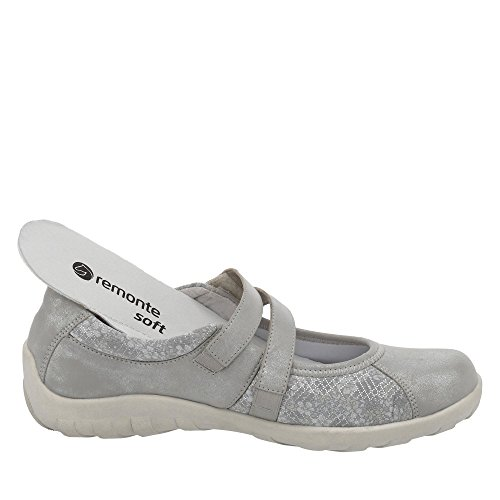 cheap prices authentic Remonte Orion Womens Casual Mary Jane Shoes Silver buy cheap top quality free shipping for sale 1CXoucp