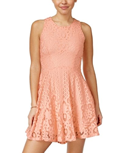 Flare Lace amp; Low Rag American Dress peach tropical Fit High ZY5wOHqF