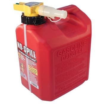 765-102 - No-Spill 2 1/2 Gallon Fuel Can by Parts Express