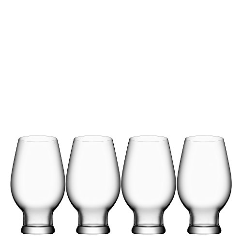 Orrefors Beer India Pale Ale 15.5 Ounce Glass, Set of -
