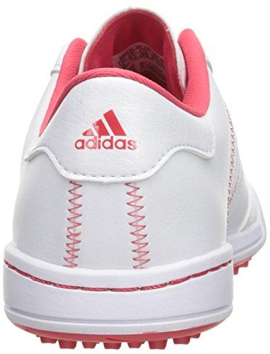adidas Girls' Jr Adicross V Ftwwht/Ftww Skate Shoe, White, 4.5 M US Big Kid - Image 2