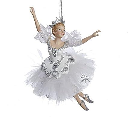 kurt adler 675 snow queen ballerina christmas ornament