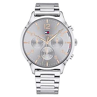 Tommy Hilfiger Unisex Multi Zifferblatt Quarz Uhr mit Edelstahl Armband 1781871 11