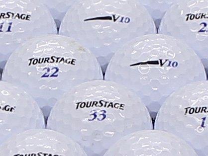 【ABランク】【ロゴなし】ツアーステージ V10 2012年モデル ホワイト 200個セット【ロストボール】   B07KXTKNQG
