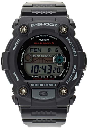 - Casio GW-7900-1ER Mens G-Shock Tide Graph Solar Powered Watch