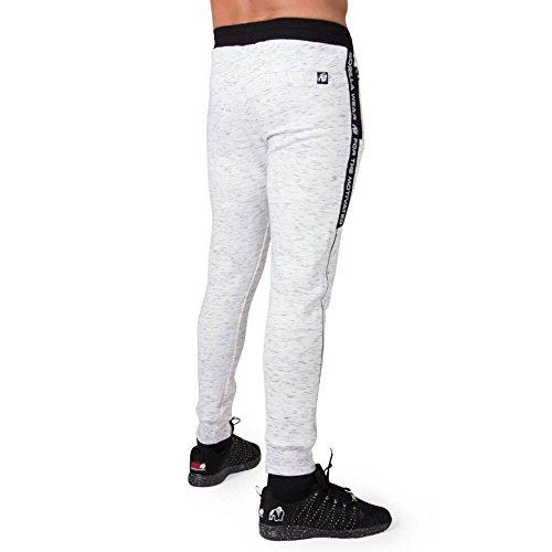 Gorilla Wear Saint Thomas Sweatpants - Mixed Gray / Mix grau - Bodybuilding und Fitness Hose für Herren