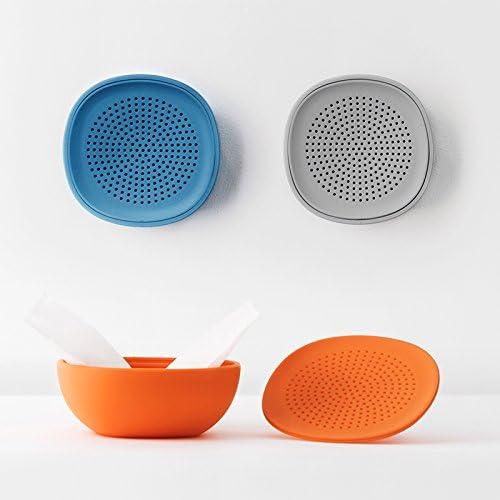 250design Bowl Natural Luftentfeuchter für Wand blau