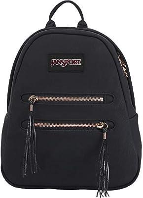 highly praised enjoy cheap price superior quality JanSport Half Pint 2 FX Mini Waistpack - Black/Rose Gold Tassel