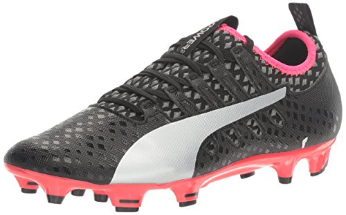 Men's Puma Black Puma Silver 2 Quiet Puma FG Bright Shoe Soccer Plasma evoPOWER Vigor Shade 4d4Zw8q0