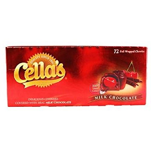 CELLA'S CHOCOLATE COVERED CHERRIES 72count