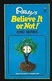Believe Not 22, Ripley, 0671826034