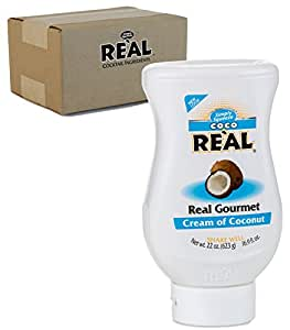Coco Real Cream Of Coconut Squeeze Bottle, 21 oz