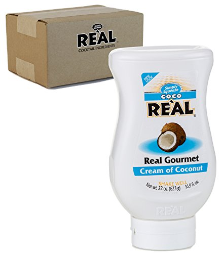 Coco Real, Cream of Coconut, 16.9 FL OZ Squeezable Bottle -