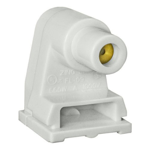 Single Pin for T12 Fluorescent Lamps - Satco 80-1496 (Single Pin Socket)