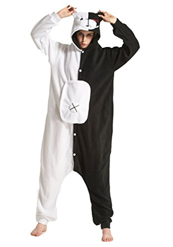Lava-ring Monokuma Anime Kigurumi Homewear Warm Cosplay Valentine's Day Gift (Easy Anime Characters To Cosplay)
