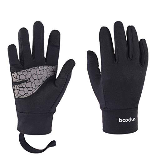 ❄️❄️Maonet Children's Ultra Soft Comfort Breathable Thicken Ski Snowboard Hiking Camping Warm Glove (Black, S) ()