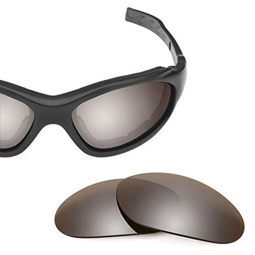— X Polarizados 1 Opciones Advanced XL Flash repuesto múltiples Lentes de Bronce Wiley Elite para Mirrorshield xwqHISnP