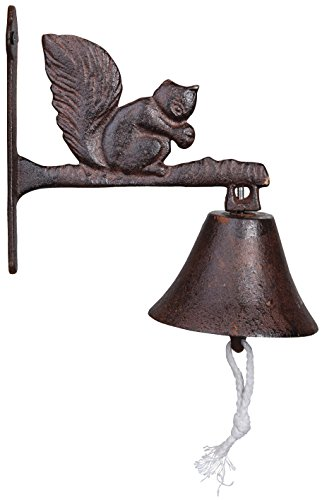 Esschert Design Doorbell Squirrel