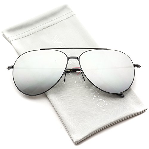 WearMe Pro - Modern Metal Frame Aviator Sunglasses