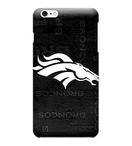 iPhone 6 Plus Case, NFL - Denver Broncos Black & White - iPhone 6 Plus Case - High Quality PC Case by ruishername