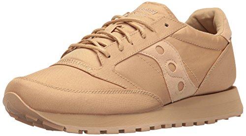 Saucony Originals Mens Jazz Original Mono Fashion Sneaker Tan pqkyh