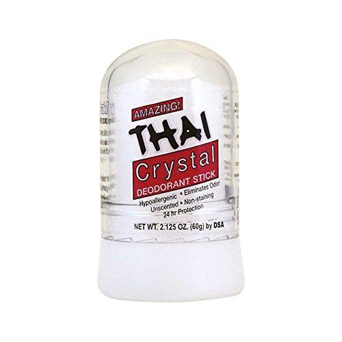THAI 100% Natural Crystal Deodorant Stick, Mini Travel Size (2.125 Ounces) ()