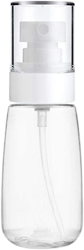 Qianren Botella de Spray de Viaje 30 ml / 60 ml, Botella de Bolsillo de pulverizador de dispensador vacío pequeño