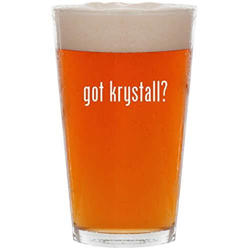 got krystall? - 16oz All Purpose Pint Beer Glass ()