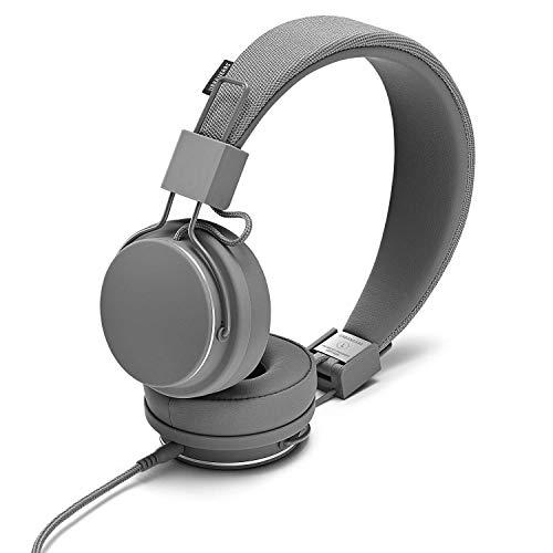 Urbanears Plattan 2 On-Ear Headphone, Dark Grey (04091669) (Renewed)