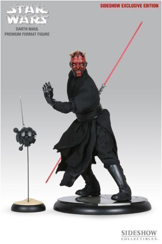 Star Wars: Darth Maul (Ray Park) Exclusive Edition Premium Format Figure Sideshow Collectibles!