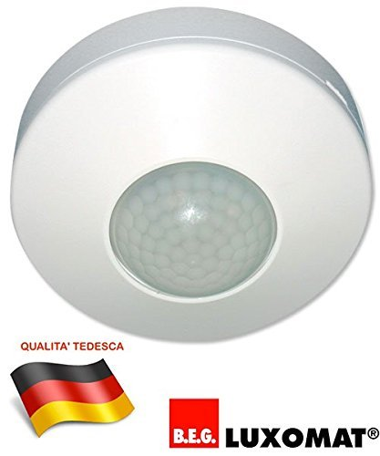 Ceiling Motion detector IP44 360° detection LUXOMAT B.E.G. BEG by Luxomat: Amazon.es: Hogar