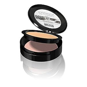 lavera Fond de teint compact – 2-in-1 Compact Foundation Honey 03 – couvrance parfaite – vegan – Cosmétiques naturels…