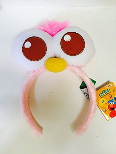 Sesame Street Muppets Natasha Pink Headband Head Band Fits Kid or Adult Halloween Costume Accessory -