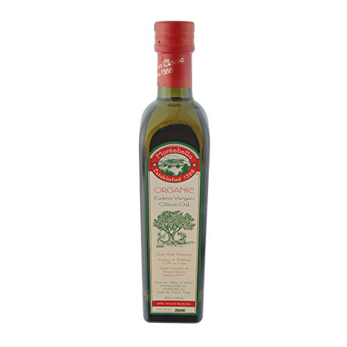 Montebello Organic Olive Oil - Extra Virgin - Case of 12 - 500 ml