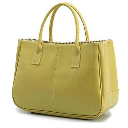 Design Mode Vert Bag Main DELEY Top Bureau Business Sac Féminine Dames À Simple Handle wagIqT