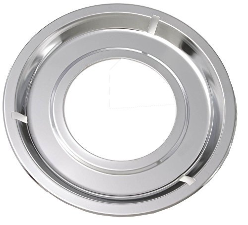 5303131115 Factory Original Oem Oven Drip Pan. Round, Chrome, Diameter: 8-1/4