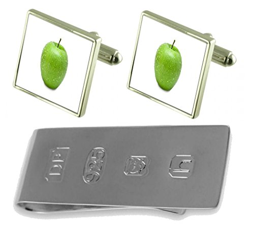 Bond Clip Apple Fruit Fruit Money Apple Green amp; Green Cufflinks James q8IUC