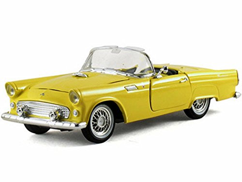 1955 Ford Thunderbird Convertible, Yellow - Arko 05521 - 1/32 Scale Diecast Model Toy Car ()