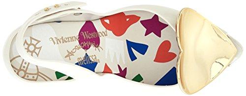 Bout Melissa Westwood VW White amp; Dragon Vivienne 19 Femme Lady Ouvert Heart White xp0HAqT