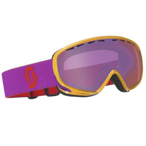 Scott Womens Dana Light Senstive Winter Snow Goggles - 224601 (Yellow/Violet - Light Sensitive)