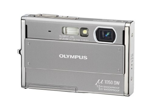 Olympus Stylus 1050 Sw Waterproof Digital Camera - 1