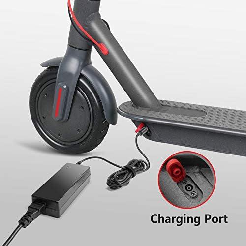 TAIFU Chargeurs de Batterie de Trottinette 42V 2A Adaptateur pour Bird Scooter, Lime Scooter, Trottinette Electrique Xiaomi Mijia M365 Segway Ninebot ES1 ES2 ES3 ES4 Vélo électrique Scooter Vélo
