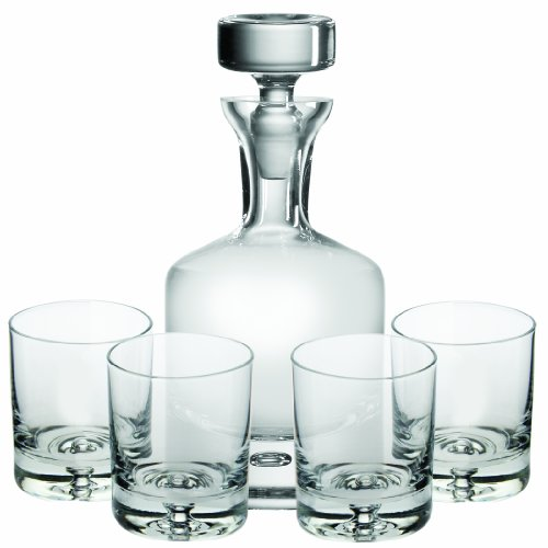 Ravenscroft Crystal W750 Taylor Double Old Fashioned Decanter Set, 34 oz, Clear