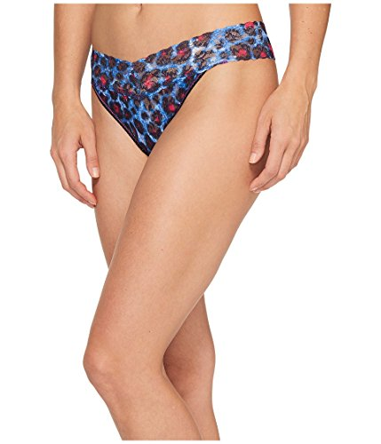 Hanky Panky Cat Island Original Rise Thong, One Size, Multi