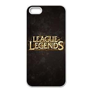 League Of Legends TPU Anti-slip Back Protect Custom Cover Case For iPhone 5,5S N8JU93828