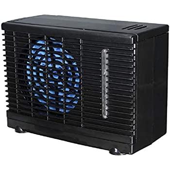 Goodqueen Adjustable 12V 60W Car Air Conditioner Cooler Cooling Fan Water Ice Evaporative Cooler Portable