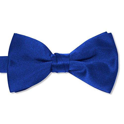 Blue Royal Tie Bow (Satin Bow Tie (Mens, Royal))