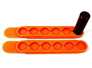 Amazon.com: TUFF QuickStrip 2-Pack Orange Urethane Material ...