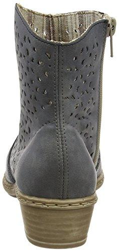 jeans Azur Jeans azur boots Ankle womens Rieker qgTaq